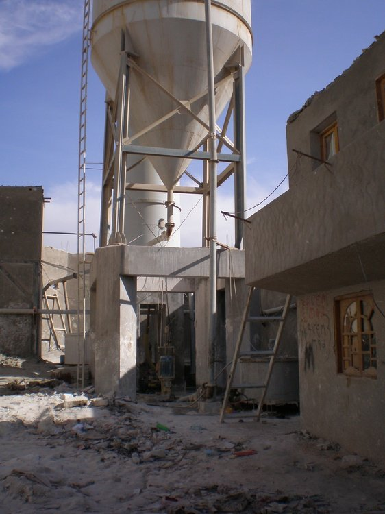 Recycling process water, Egypt<br />